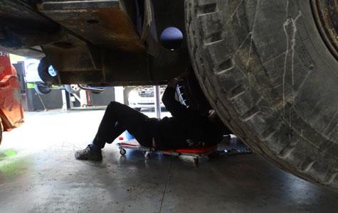 reparación tractores