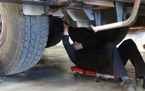 reparación camiones