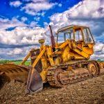 Taller mecánico para excavadoras y vehículos industriales