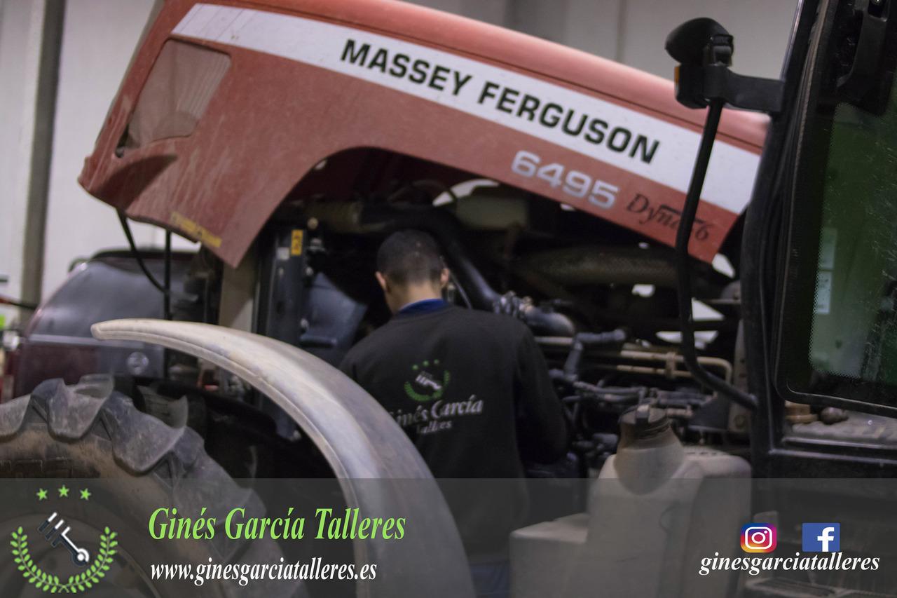 Reparación tractor